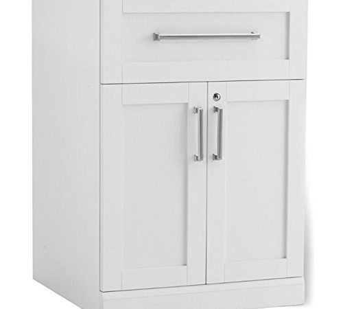 New Age Products Home Bar 2 Door Split Bar Cabinet Shaker Style